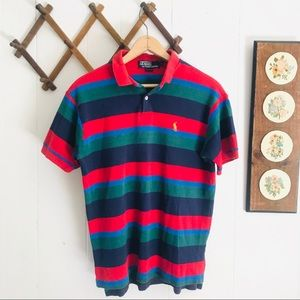 Polo Ralph Lauren Vintage Striped USA Made Shirt